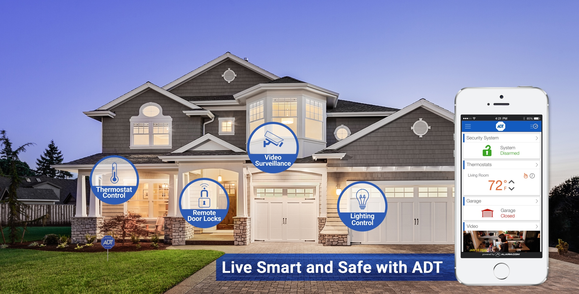 Safe Haven Security An Adt Authorized Dealer